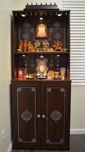 63 best pooja cabinet images on pinterest puja room prayer room
