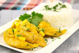 cuisiner des aiguillettes de poulet aiguillettes de poulet à la mangue