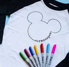 cute disney shirts to get signed in disney world