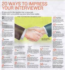 Best Resume Format For Job Interview by 20 Ways To Impress Your Interviewer My Mother Coached Me Well On