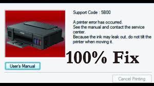 cannon g series g1000 g2000 g3000 g4000 5b00 error fix service