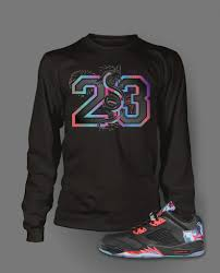 new year shirts sleeve graphic t shirt to match retro air 5 low