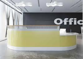 lavl valde modular reception desks countertop curved long