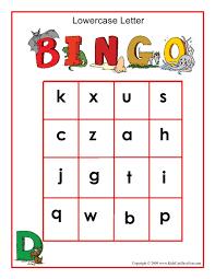 letter alphabet bingo game patterns patterns kid