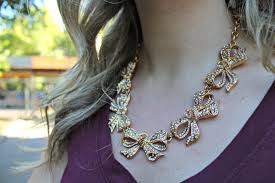 fashion bow necklace images J crew bow necklace bows sequins jpg