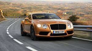 gold color cars 2012 bentley continental gt v8 review notes a greener continental