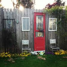 Backyard Fence Decorating Ideas by Decorating A Plain Wooden Fence Gardening Pinterest Wooden