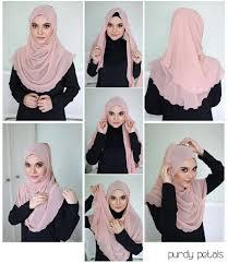 tutorial hijab segi empat paris simple 25 kreasi tutorial hijab paris simple terbaru 2018