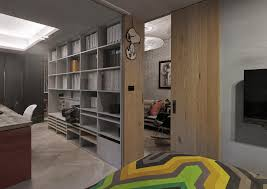 space saver interior design black arch floor l mirrored metal