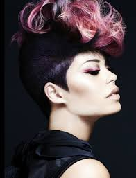 hairshow guide for hair styles 51 best punk l mohawks l mullets images on pinterest hairdos