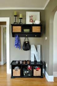 Small Entryway Shoe Storage 10 Sneaky Ways To Fake A Foyer Shoe Tray Umbrella Holder And Trays