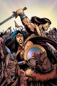 woman conan u0027 crossover comic book announced fall