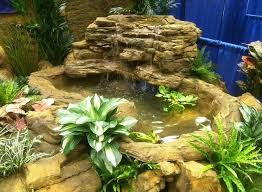 large backyard pond corner waterfall kits u0026 artificial rocks