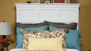how to make a bed headboard how to make a headboard with storage youtube