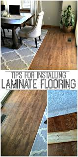 Laminate Flooring Installation Tips Tips For Installing Laminate Flooring Inspiration For
