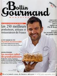 gourmand magazine cuisine bottin gourmand pibarnon