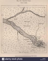 Congo Map Boyoma Falls Stanley Falls Lualaba River Congo 1885 Antique