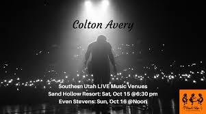 southern utah live venuessaturday oct 15 sand hollow