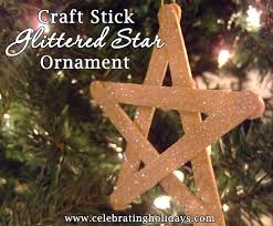 craft stick star diy christmas craft celebrating holidays