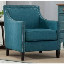 Teal Armchair For Sale Accent Chairs Blue Living Room Chairs Shop The Best Deals For
