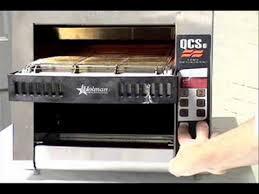 Holman Conveyor Toaster Programming The Holman Qcse2 600hw Conveyor Toaster Wmv Youtube