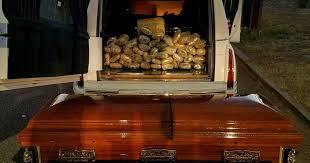 camo casket casket