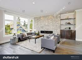 great room design ideas fireplace floor to ceiling stone fireplace images ideas modern