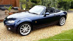 mazda cars uk video review of mazda mx 5 convertible for sale sdsc specialist