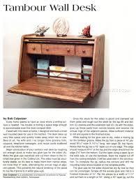 desk plans tambour wall desk plans u2022 woodarchivist
