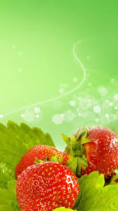 fresh strawberry fruit iphone 8 wallpaper download iphone