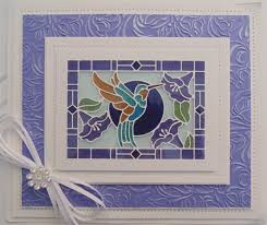 sue wilson dies stained glass collection hummingbird ced24001