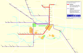 Metro Houston Map by Intermodality Blog Archive Houston Rail Transit U2026 In An