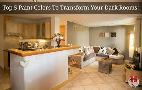 colors for dark rooms home design