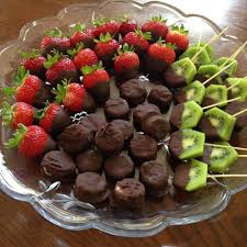 chocolate dipped fruit cleanfoodcrush chocolate dipped fruit a dessert platter