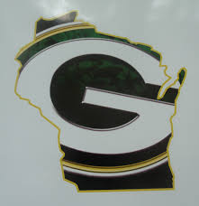 Green Bay Packers Home Decor Wall Art Sports Decal Green Bay Packers State Of Wisconsin Wall