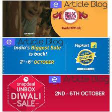 Flip Kart Huge Discount Diwali Sales Avail Super Deals At Flipkart Amazon