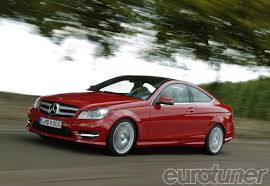 2012 mercedes benz c class coupe coupe features eurotuner magazine