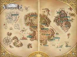 Labeled World Map Ni No Kuni World Ni No Kuni Wiki Fandom Powered By Wikia