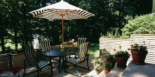 Small Patio Umbrellas by 6 Brilliant And Inexpensive Patio Ideas For Small Yards Huffpost