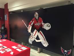 adhesive wall murals in md va and dc csi washington capitals adhesive wall mural at the verizon center