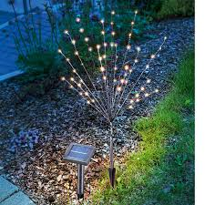 led solar outdoor decorative light light bush lights co uk