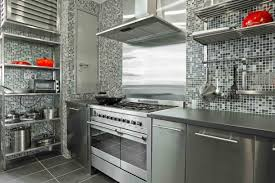 Metallic Tile Backsplash by Kitchen Interior Glass Tiles For Kitchen Tile Backsplash White