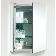 medicine cabinet storage bathroom graceful square metal small
