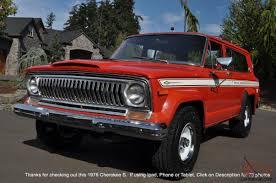 1977 jeep cherokee chief cherokee no reserve