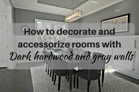 do gray walls go with brown cabinets decorating rooms with floors and gray walls the
