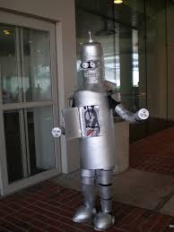 Bender Halloween Costume Cartoon Costumes Answers Men