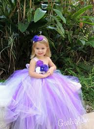 aliexpress com buy purple lavender tutu dress with flowers
