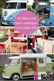 pink volkswagen van 10 façons cool d u0027aménager un combi vw vans volkswagen and van life