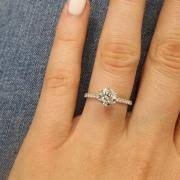 white gold engagement ring with gold wedding band marketplace searching for engagement rings i do now i don t