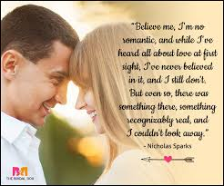 wedding quotes nicholas sparks 20 best at sight quotes to